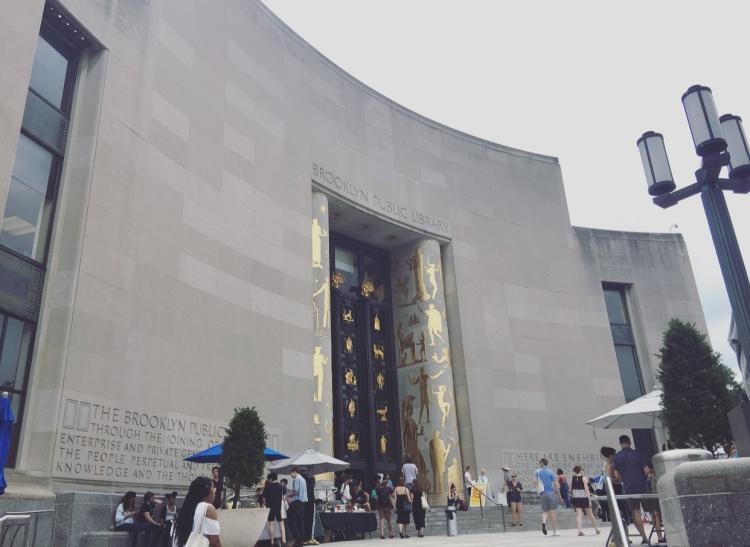 Brooklyn public library, Brooklyn, New York.