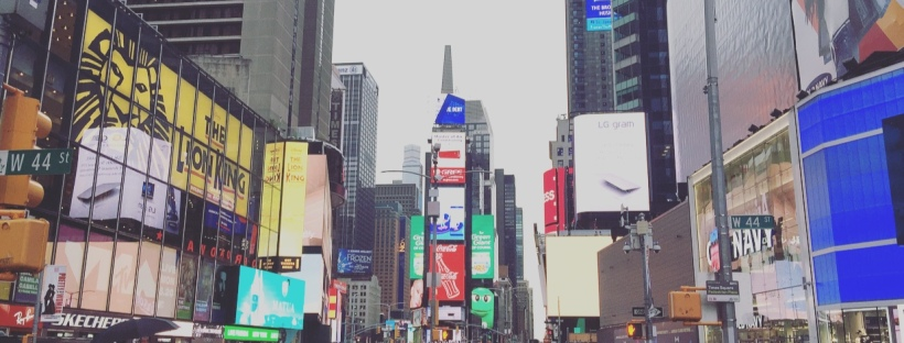 Times Square, Midtown Manhattan, New York, Stati Uniti.