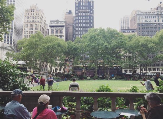 Bryant Park, Midtown Manhattan, New York, Stati Uniti.