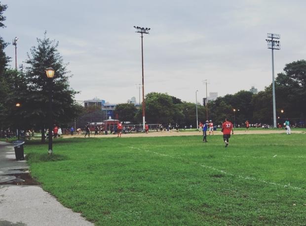 McCarren Park, Williamsburg, Brooklyn, New York, Stati Uniti.