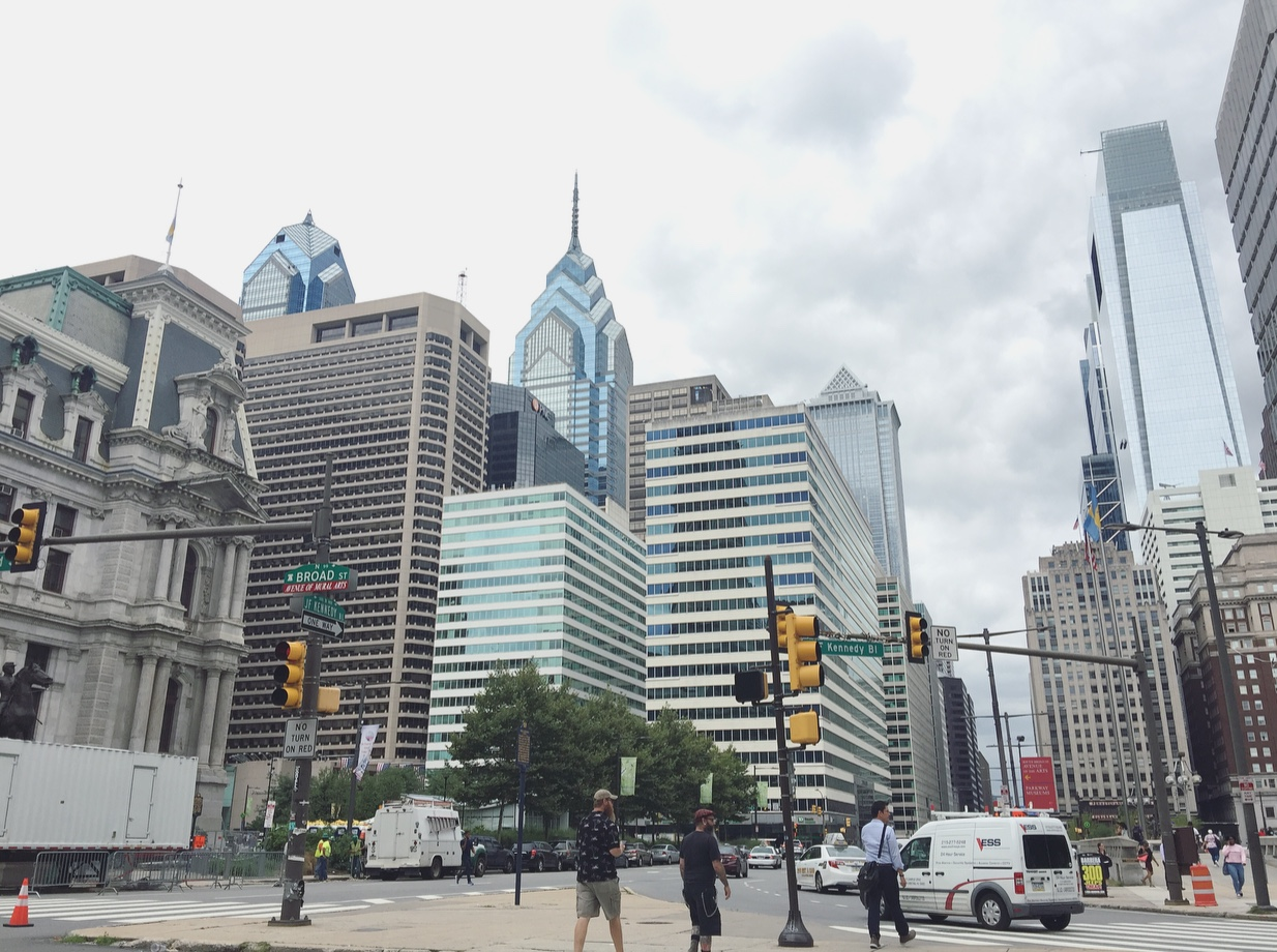 Downtown, Philadelphia, Pennsylvania, Stati Uniti.