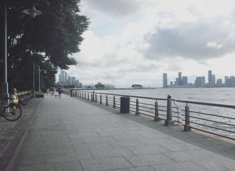 Hudson River Park, Manhattan, New York, Stati Uniti.