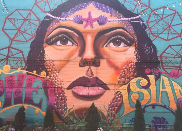 Murales, Coney Island, New York, Stati Uniti.
