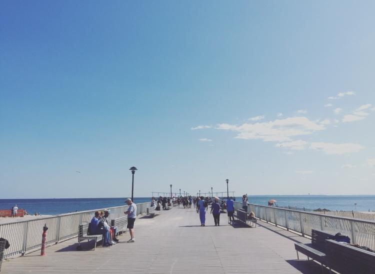 Lungomare, Coney Island, New York, Stati Uniti.