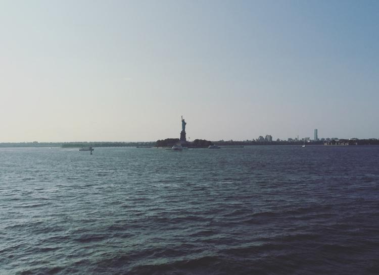 Statua della Libertà, Manhattan, New York, Stati Uniti.