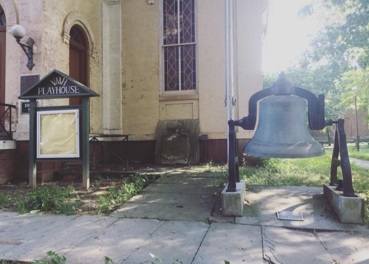 Merchant Marine Bell, Staten Island, Manhattan, New York, Stati Uniti.