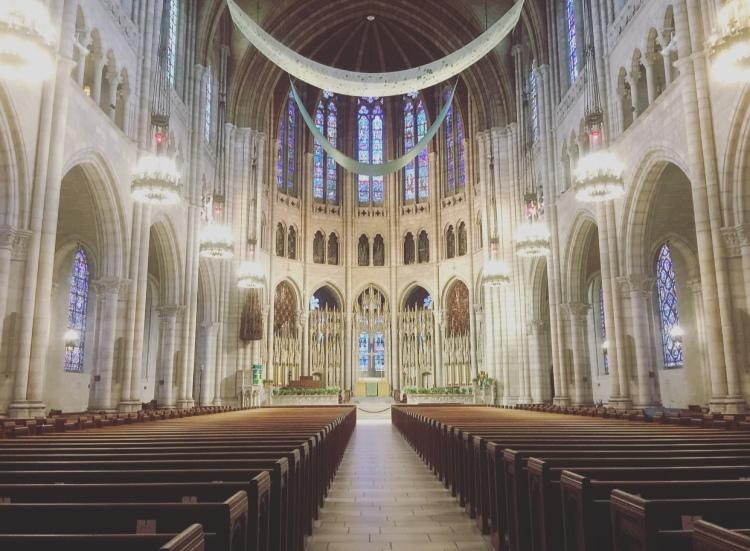 Riverside church, Harlem, Manhattan, New York, Stati Uniti.
