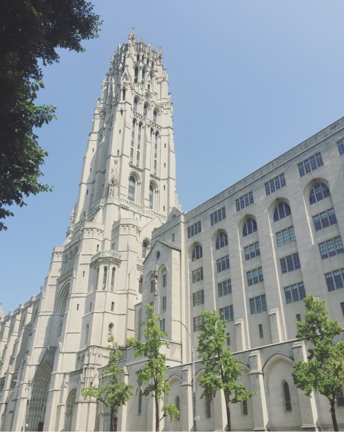 Riverside church, Harlem, Manhattan, New York, Stati Uniti.