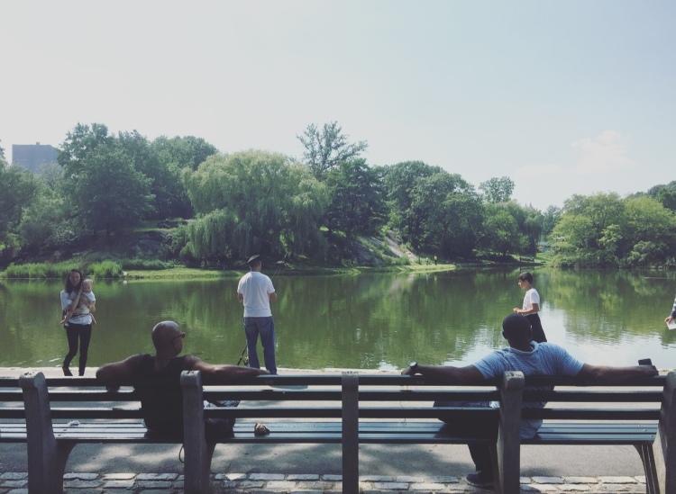 Central Park, Harlem, Manhattan, New York, Stati Uniti.