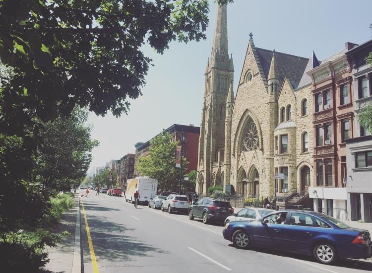 Reformed Low Dutch Church of Harlem, Manhattan, New York, Stati Uniti.