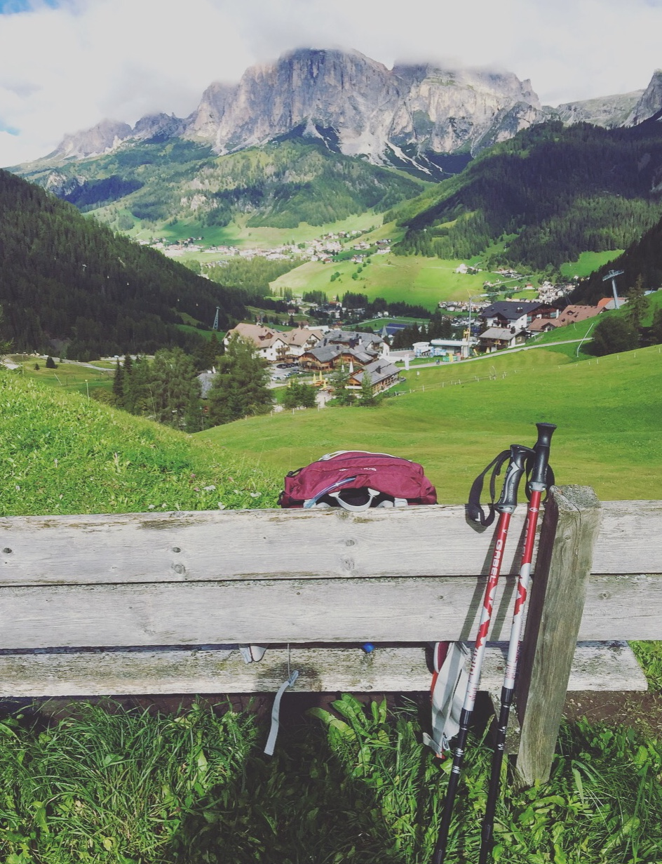 Trekking, Corvara, Alto Adige, Dolomiti.