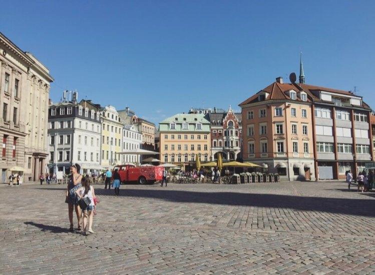 Lettonia, Riga città vecchia