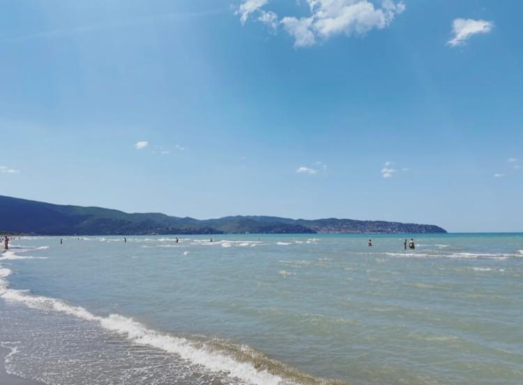 Toscana, Maremma, spiaggia della Giannella.