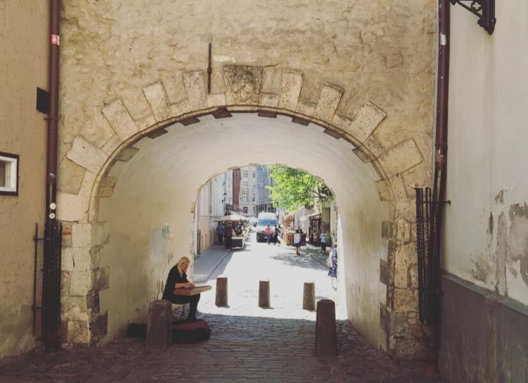 Lettonia, Riga, Porta svedese.
