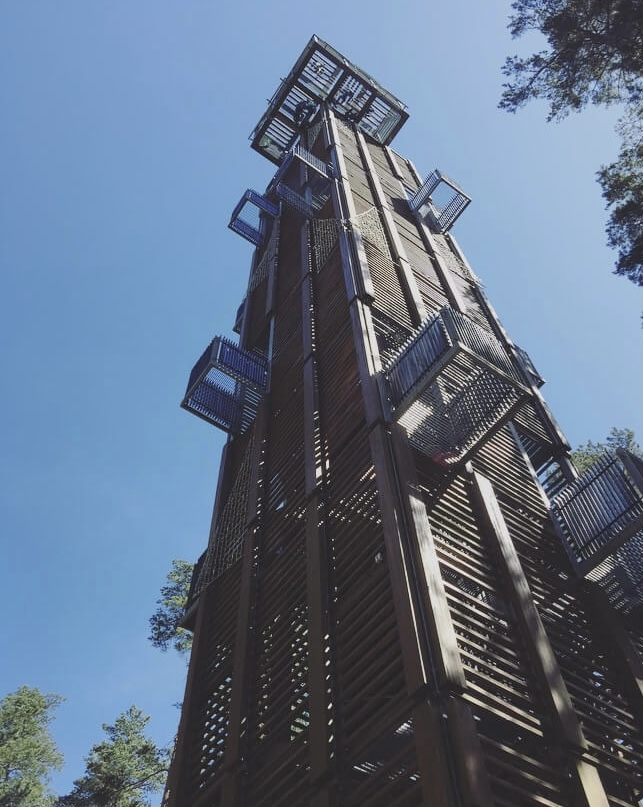 Lettonia, Jurmala, observation tower.