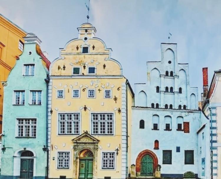 Lettonia, Riga, I tre fratelli.